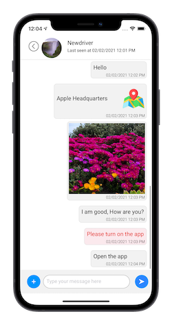 realtime operator tracking app, idispatch, tracking app
